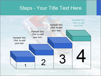 Man on jetski jump PowerPoint Template - Slide 64