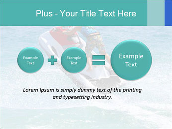 Man on jetski jump PowerPoint Template - Slide 75