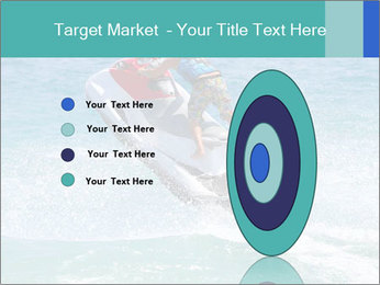 Man on jetski jump PowerPoint Template - Slide 84