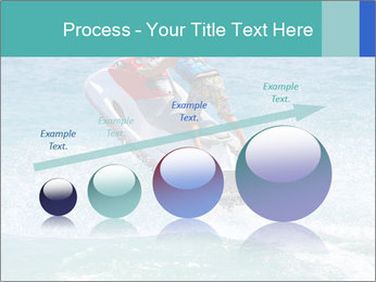 Man on jetski jump PowerPoint Template - Slide 87