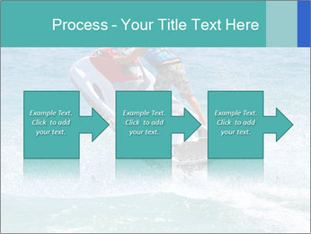 Man on jetski jump PowerPoint Template - Slide 88