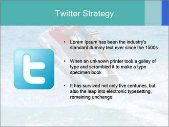 Man on jetski jump PowerPoint Template - Slide 9