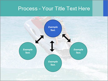 Man on jetski jump PowerPoint Template - Slide 91