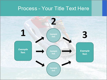 Man on jetski jump PowerPoint Template - Slide 92