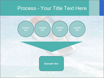 Man on jetski jump PowerPoint Template - Slide 93