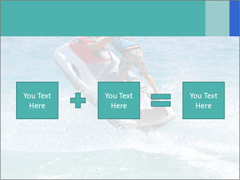 Man on jetski jump PowerPoint Template - Slide 95