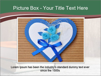 Blue cup with red heart PowerPoint Template - Slide 15