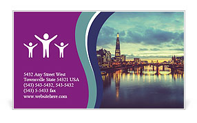 0000086743 Business Card Template