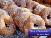Malaysian donuts PowerPoint Templates