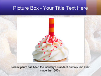 Malaysian donuts PowerPoint Template - Slide 15