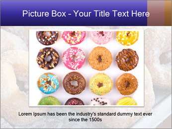 Malaysian donuts PowerPoint Template - Slide 16