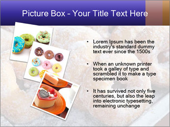 Malaysian donuts PowerPoint Template - Slide 17