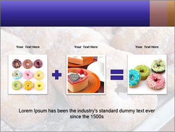 Malaysian donuts PowerPoint Template - Slide 22