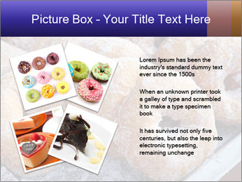 Malaysian donuts PowerPoint Template - Slide 23