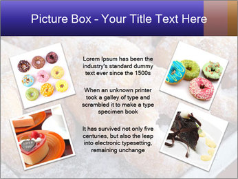 Malaysian donuts PowerPoint Template - Slide 24