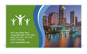 0000086778 Business Card Template