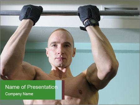 Bodybuilder PowerPoint Template