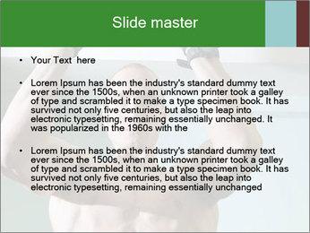 Bodybuilder PowerPoint Template - Slide 2