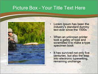 Fall Fishing PowerPoint Template - Slide 13