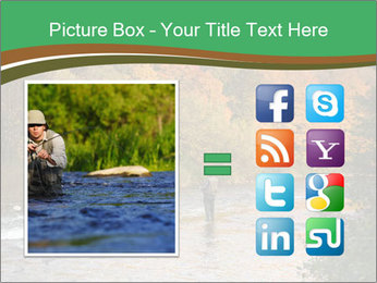 Fall Fishing PowerPoint Template - Slide 21
