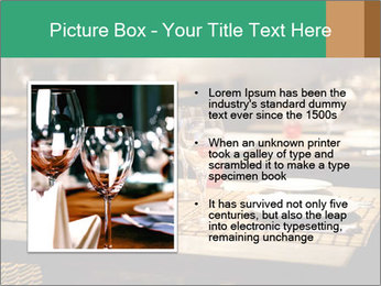 Fine table setting PowerPoint Templates - Slide 13