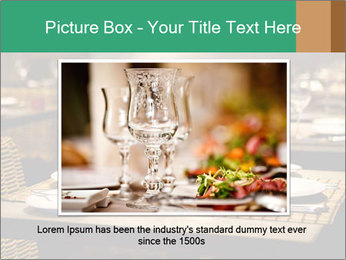 Fine table setting PowerPoint Templates - Slide 15