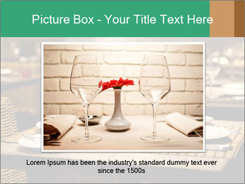 Fine table setting PowerPoint Templates - Slide 16