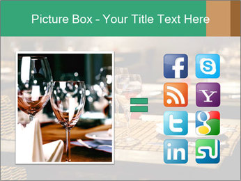 Fine table setting PowerPoint Templates - Slide 21
