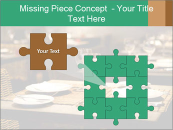 Fine table setting PowerPoint Templates - Slide 45