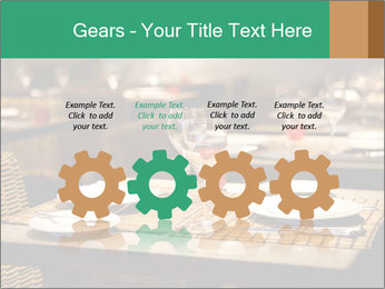 Fine table setting PowerPoint Templates - Slide 48