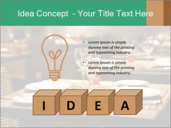 Fine table setting PowerPoint Templates - Slide 80
