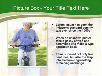 Mature woman PowerPoint Templates - Slide 13