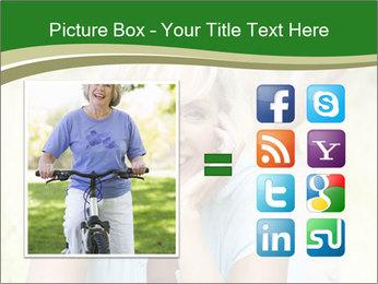 Mature woman PowerPoint Templates - Slide 21