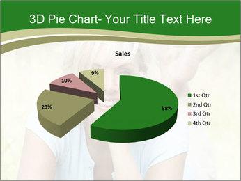 Mature woman PowerPoint Templates - Slide 35