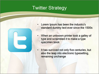 Mature woman PowerPoint Templates - Slide 9