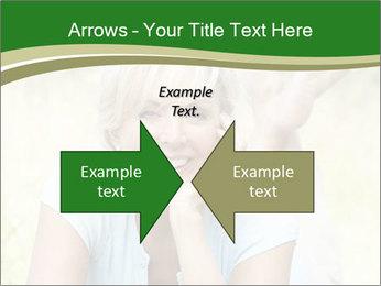 Mature woman PowerPoint Templates - Slide 90