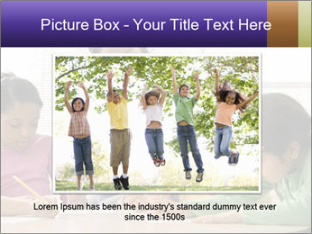 Teacher helping students PowerPoint Template - Slide 16