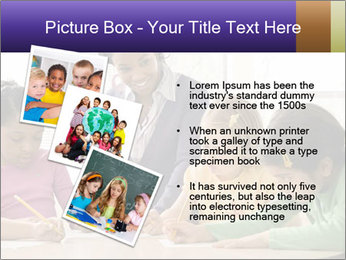 Teacher helping students PowerPoint Template - Slide 17