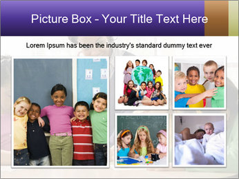 Teacher helping students PowerPoint Template - Slide 19