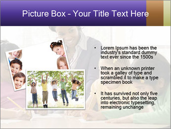 Teacher helping students PowerPoint Template - Slide 20