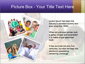 Teacher helping students PowerPoint Template - Slide 23