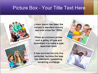 Teacher helping students PowerPoint Template - Slide 24