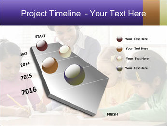 Teacher helping students PowerPoint Template - Slide 26