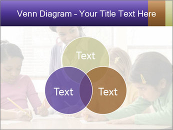 Teacher helping students PowerPoint Template - Slide 33