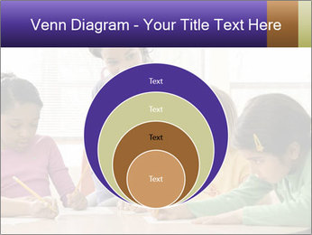 Teacher helping students PowerPoint Template - Slide 34