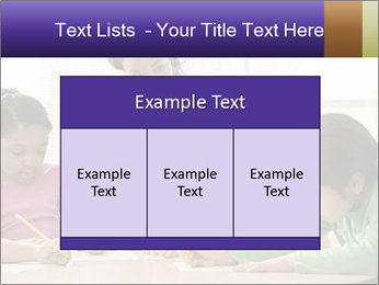 Teacher helping students PowerPoint Template - Slide 59
