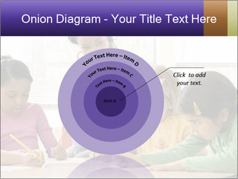 Teacher helping students PowerPoint Template - Slide 61