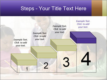 Teacher helping students PowerPoint Template - Slide 64