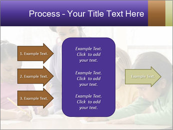 Teacher helping students PowerPoint Template - Slide 85
