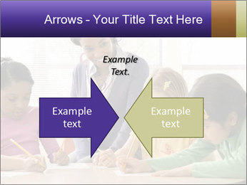 Teacher helping students PowerPoint Template - Slide 90